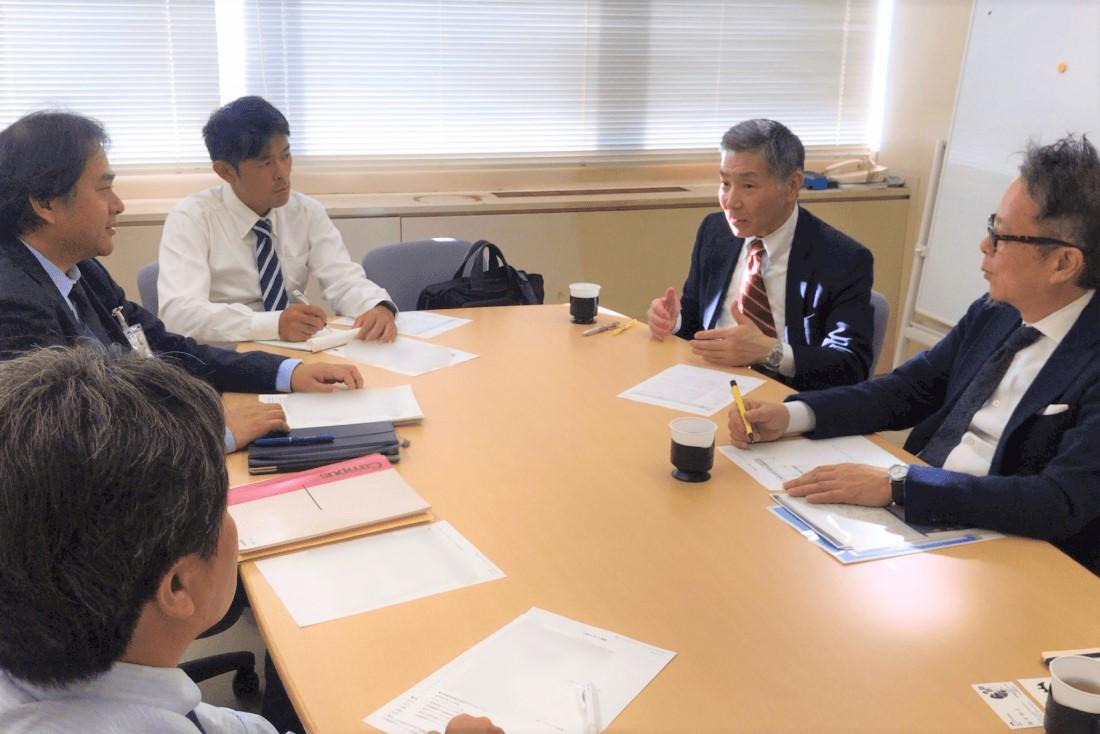 富士市産業支援センターf-Bizの小出センター長がご来訪!