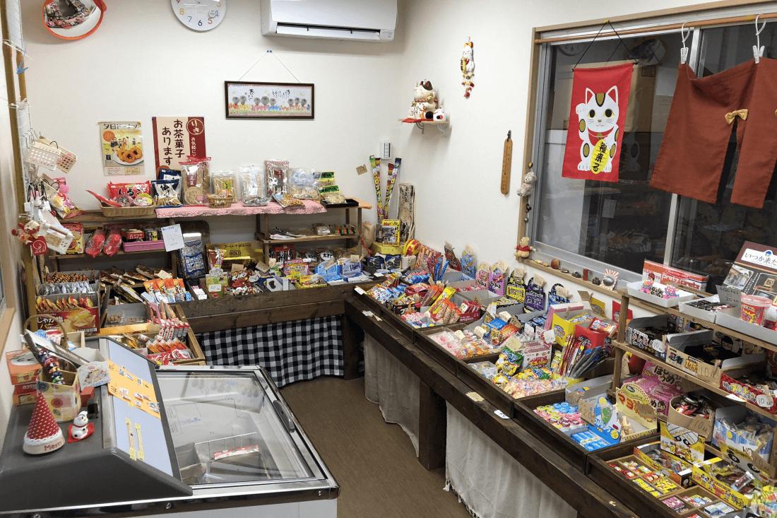 神村町の駄菓子屋「りきまる」さんに出張相談!