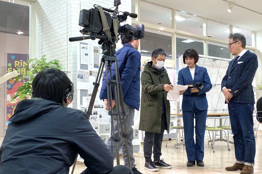 広島テレビ『びんご姫のふくやま福さがし』の収録